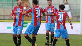 Serie C play off: Catania-Reggina 4-1. Arezzo ok con il Novara