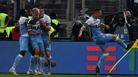 Il centrocampista serbo entra al 79' e tre minuti più tardi segna il gol che porta in vantaggio i biancocelesti, l'argentino chiude i giochi al 90'