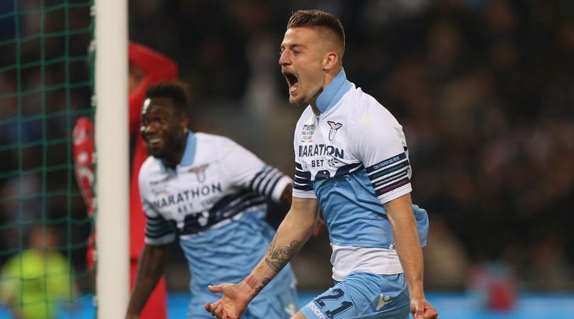 Lazio, che trionfo: la Coppa Italia è tua! Milinkovic-Savic e Correa condannano l'Atalanta