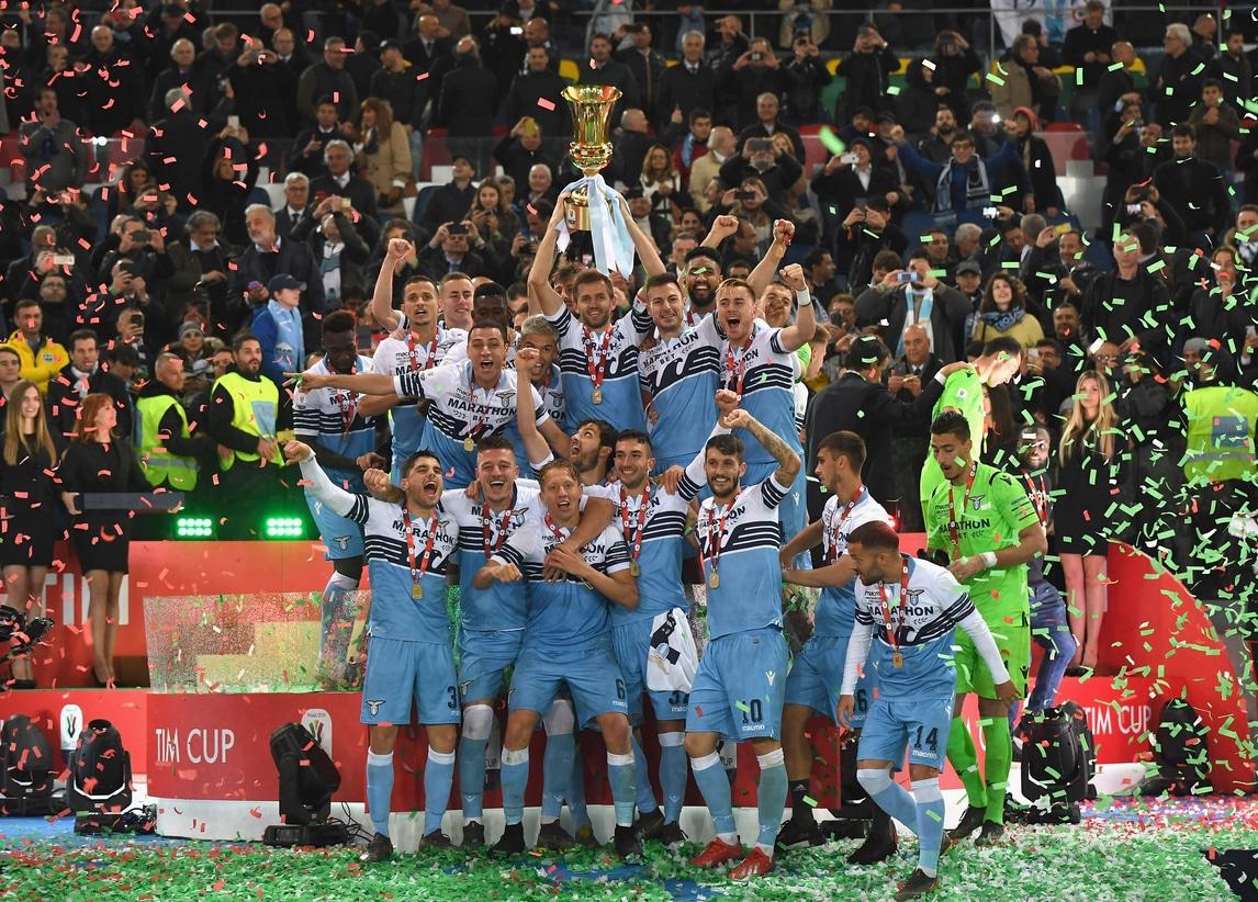 Festa Lazio! Lulic alza la settima Coppa Italia al cielo