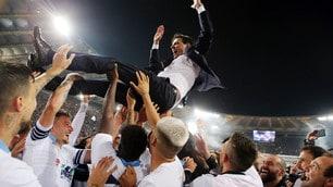 La Lazio vince…e porta Inzaghi in trionfo!