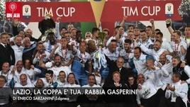 Lazio, la Coppa è tua. Rabbia Gasperini