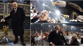 Coppa Italia, Lotito festeggia con Olympia