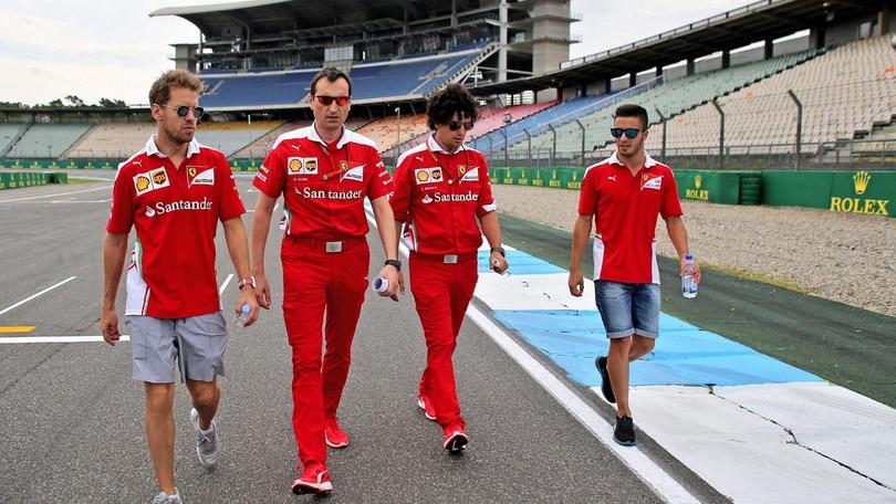 F1 Ferrari, Fuoco: «Test utili e divertenti»
