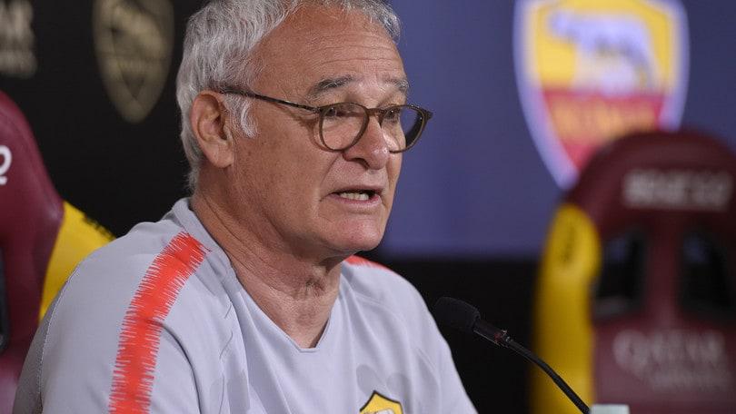 Ranieri: «De Rossi titolare col Parma. A Trigoria c'è troppa gente»