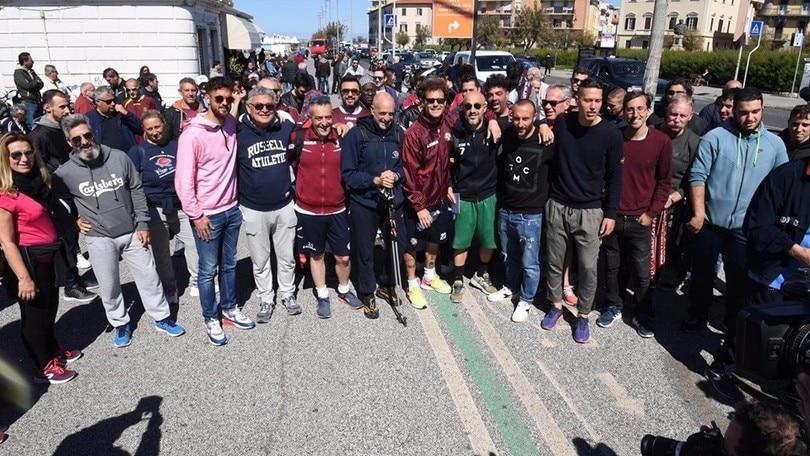 Serie B, Livorno salvo: Diamanti mantiene la promessa e sale a piedi a Montenero