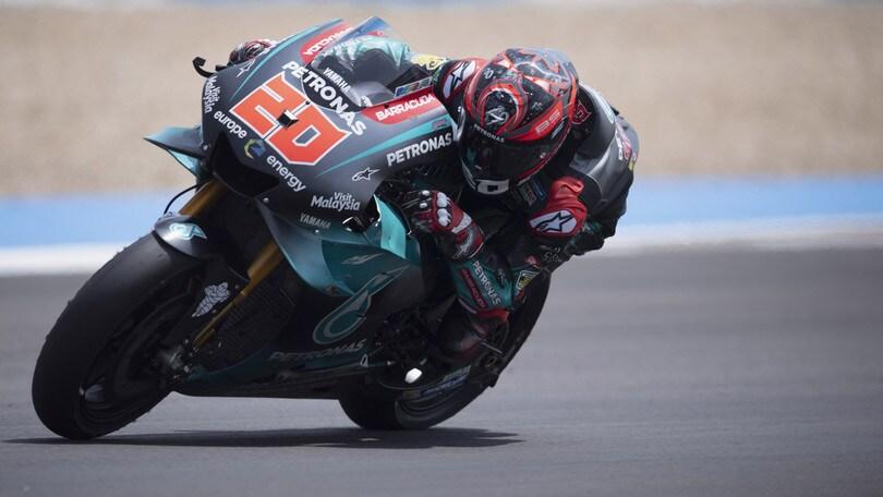 MotoGp Le Mans, Quartararo il più veloce nelle prime libere