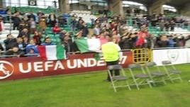La grande festa dell'Italia U17