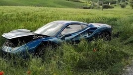Mille Miglia: donna ferita nello scontro tra due Ferrari   Foto