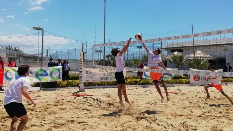 Beach Volley Scuola - Trofeo Acea: Pacinotti, Labriola, Democrito e Montale campioni