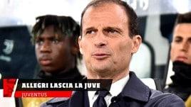 Juventus, Allegri lascia la Juve