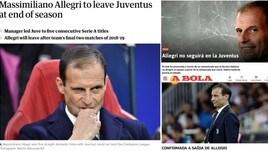 Allegri-Juventus: il divorzio visto dalla stampa europea