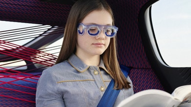 Seetroën S19, gli occhiali di Citroen per alleviare il mal d'auto