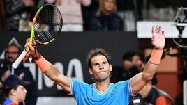 Nadal vola in semifinale agli Internazionali