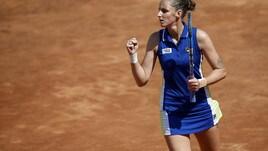 Pliskova in semifinale agli Internazionali, Azarenka saluta il Foro
