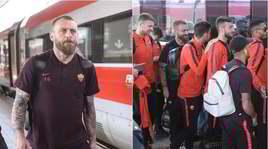 De Rossi, ultima trasferta con la Roma: la squadra intorno al suo capitano