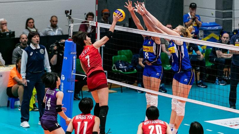 L'Italia di Mazzanti cede al Giappone nella semifinale di Montreux