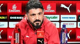 Milan, Gattuso: «La Roma sentirà la mancanza di De Rossi»