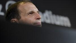 Allegri commosso nella conferenza stampa di addio alla Juve