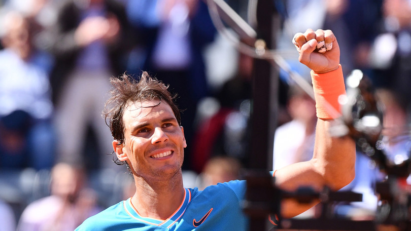 Nadal batte Tsitsipas e conquista la finale degli Internazionali d'Italia
