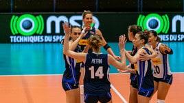 L'Italia Femminile chiude terza al torneo di Montreux