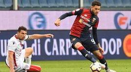 Genoa-Cagliari 1-1: Criscito sul gong, Maran centra la salvezza
