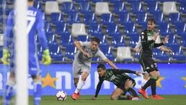Serie A Sassuolo-Roma 0-0, il tabellino