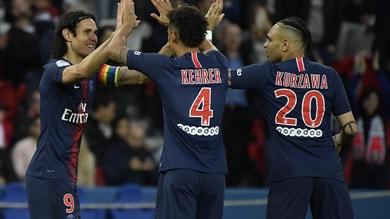 Il PSG cala il poker in Ligue 1. Lione in Champions, St. Etienne in Europa League