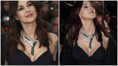 Monica Bellucci a Cannes:décolleté esplosivo