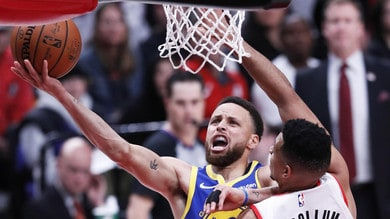 Nba, finale Western Conference: Curry show