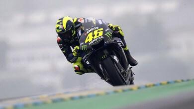 Rossi: «È andata meglio, ma serve più accelerazione»