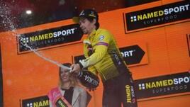 Roglic cala il bis al Giro d'Italia: sua la crono di San Marino