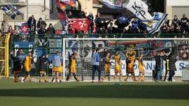 Playoff, il Pisa riacciuffa la Carrarese in un minuto: termina 2-2