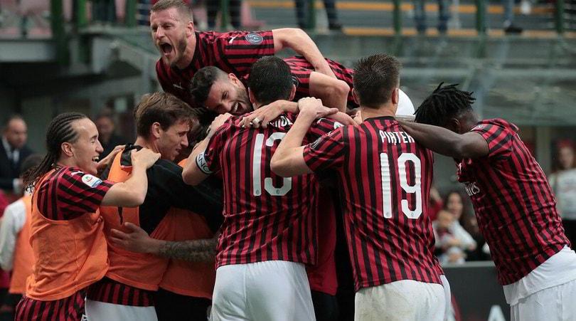 Milan in Europa: Piatek e Suso battono il Frosinone