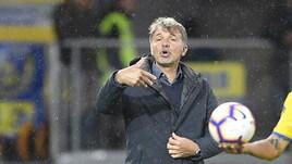 Frosinone, Baroni: «Potevamo mettere pressione al Milan»