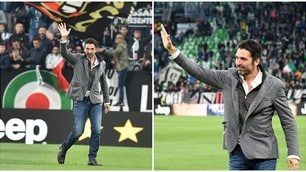 La Juventus tra passato e futuro: alla festa c'è anche Buffon