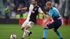 Serie A Juventus-Atalanta 1-1, il tabellino