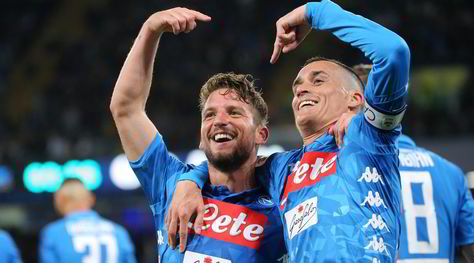 Napoli-Inter 4-1: Ancelotti travolge Spalletti