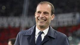 Juventus, Allegri: «Se arriva l'offerta giusta, continuo ad allenare»