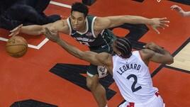 Playoff Nba: Toronto accorcia sul 2-1 con Milwaukee