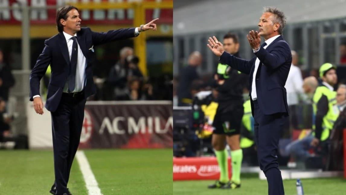 Biancocelesti e rossoblù chiuderanno la 37ª giornata di Serie A. All'andata finì 2-0 per i biancocelesti, che non vincono entrambe le sfide stagionali contro i felsinei dal 2004-05