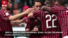 Serie A, sfide in contemporanea. Roma, incubo preliminari