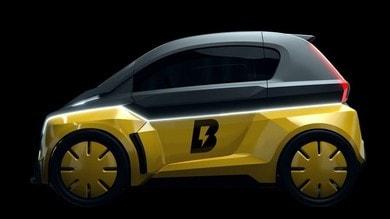 Usain Bolt presenta la B-Nano, l'auto elettrica per la mobilità urbana