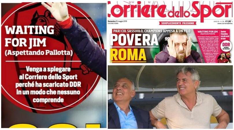 Roma, da Boston a Baldini...Pallotta, vieni al Corriere dello Sport