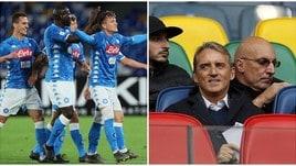 Mancini: «Il Napoli gioca bene da anni, ma ha ragione chi vince»