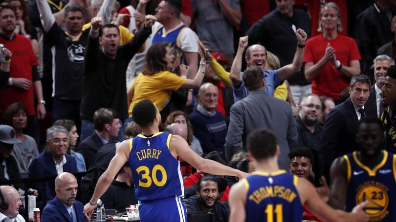 NBA, Golden State fa 4-0 con Portland: alle finali per il quinto anno di fila