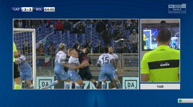 Lazio-Bologna, errore di Pasqua: 2-3 da annullare
