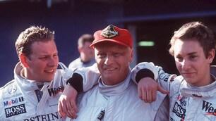 Lauda, le tappe di una carriera da leggenda