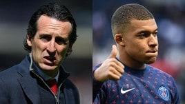 Emery: «Mbappé voleva il Real da quando io ero al Psg»