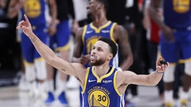 Nba, Curry inarrestabile: Golden State a 1,42 per il titolo
